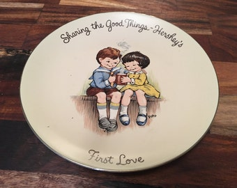 Hershey's Collectible Plate (Sharing the Good Things - First Love)