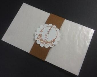 Glassine Envelope 3 1/2 in x 6 in