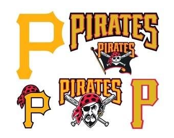 Pittsburgh Pirates Cut Files, Pittsburgh Pirates SVG Files, Pittsburgh Pirates SVG Cutting Files, Pittsburgh Pirates File, Instant Download