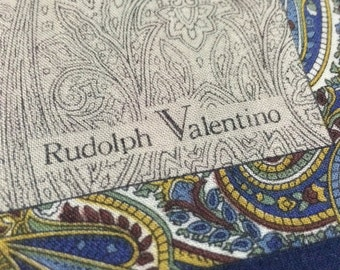 Vintage Rudolph Valentino Handkerchief