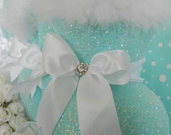 Wedding Centerpiece, Robin Egg Blue, Aqua Wedding De, Aqua Baby Shower Decor, Turquoise, Aqua Bridal Shower Decor, Quinceanera, Tiffany Blue