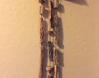 All Natural Desert Wood Windchime