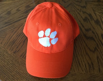 Tiger Paw baseball cap.  One size fits most