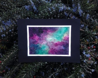Purple&Green Nebula