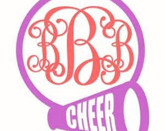 Cheer Personalized Decal