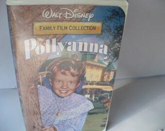 Disney Graduation VHS Movie Pollyanna, Classic Disney, Disney VHS, Gift For Kids, Child Reward, Family Movie Night