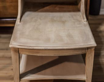 Plantowsky's side table made of cherry wood