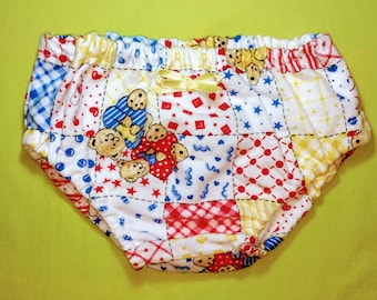 Bear baby diaper cover