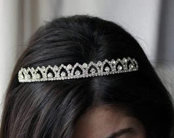 Bridal hair tiara, wedding hair tiara, bridal hair accessory