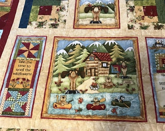 Cabin by the Lake Quilt