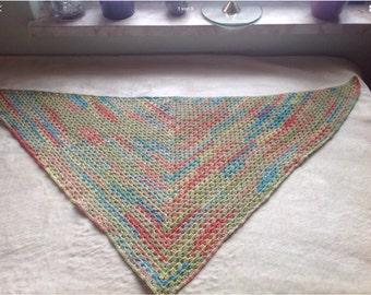 Shawl, scarf, crochet shawl
