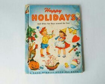 Vintage Happy Holidays and other fun days around the year by E.C. REICHERT