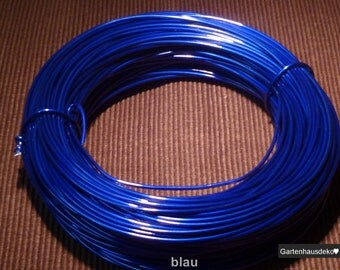 Aluminium 5m / 2Ø in. blue colors