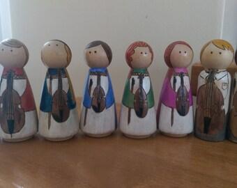 Custom Peg Dolls