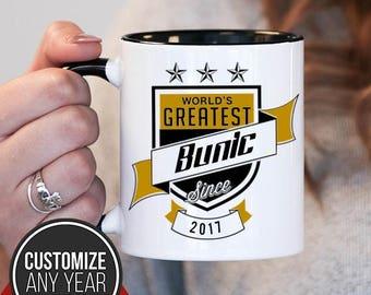 World's Greatest Bunic Since (Any Year), Bunic Gift, Bunic Birthday, Bunic Mug, Bunic Gift Idea, Baby Shower, ,