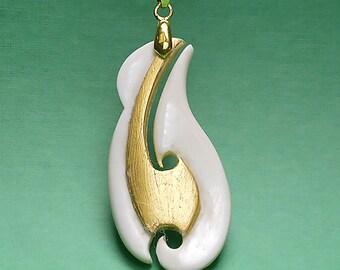 Maori jewellery, Gold_13
