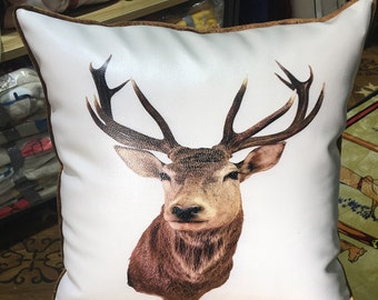 Short plush American high-end pillow core living room sofa pillow core