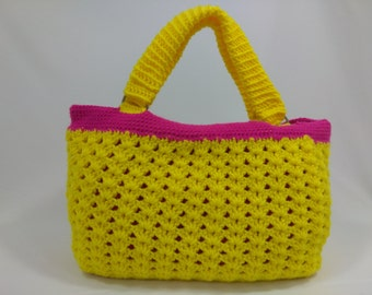 Shell Stitch Handmade Crochet Women Handbag