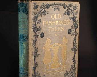 Rare Vintage Book Old Fashioned Tales Illustrated by F.D. Bedford