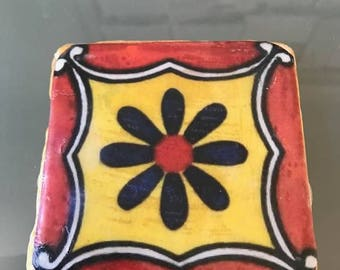 Handmade mexican coasters