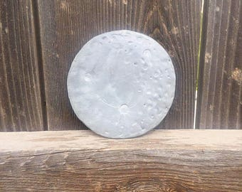Hand sculpted moon