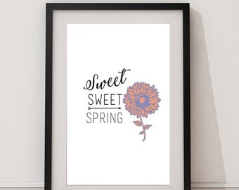 Spring - 8x10 Instant Download Print