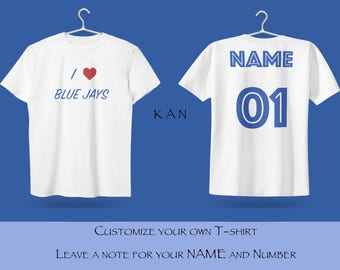 Blue Jays Unisex T shirt T Shirts For Men T Shirts For Women T Shirt For Youth Street T-shirts Hipster T Shirt Customize Gift T Shirt