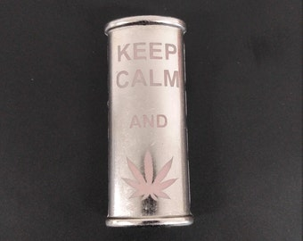 BIC Lighter Cover Etched Metal