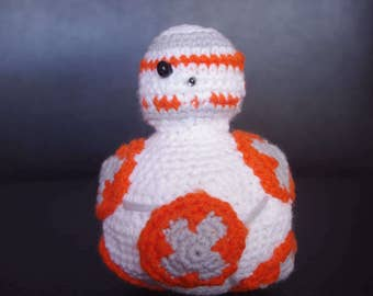BB8 Star wars amigurumi edition
