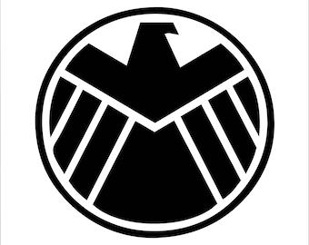 Agents of Shield Symbol Vinyl Decal