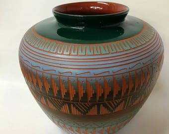 Navajo Pottery by Cindy Lee Price Reduced
