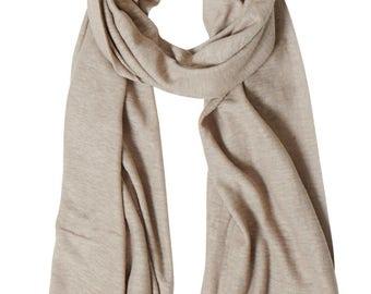Lin Fizz scarf Mole 45 x 148 cm