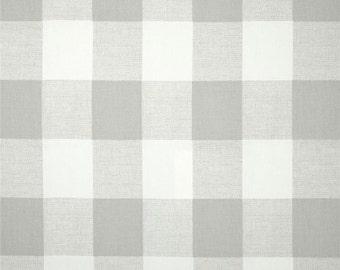Premier Prints Anderson Check French Grey