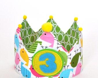 Crown birthday chick