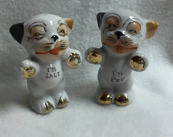 Salt and Pepper - Dogs with Gold Paws (#031)