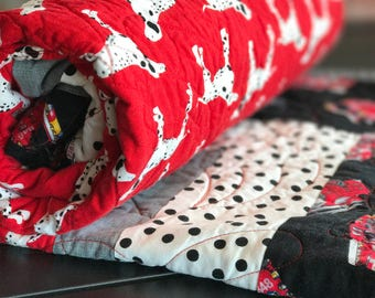 Dalmation Toddler Quilt