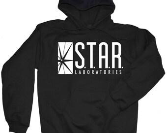 STAR Labs Sweatshirt - Star Labs T Shirt - the Flash - Arrow - Barry Allen - S.T.A.R. Labs Sweatshirt -  S.T.A.R. Laboratories Shirt