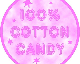 Cotton Candy Button