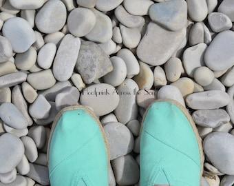 Shoes on Schoolhouse Beach
