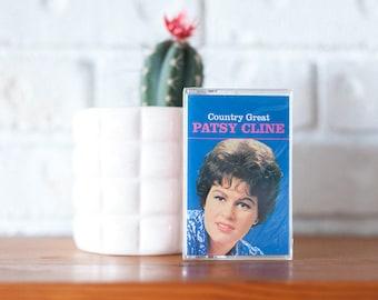 Vintage Patsy Cline Cassette Tape Unopened