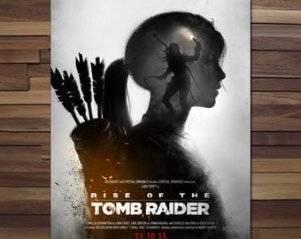Tomb Raider: Rise of the Tomb Raider Poster - Canvas