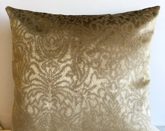 Olive green pillow Etsy