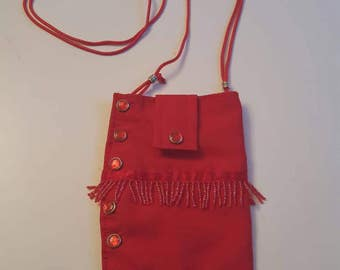 Western Style Cell Phone Purse
