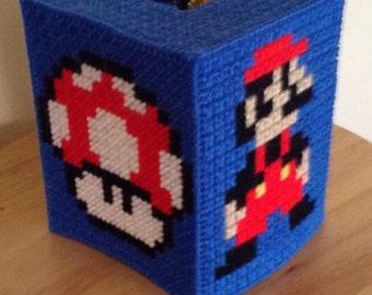 Mario brothers tissue box