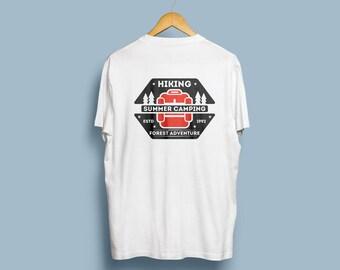 Summer Camping trailwear t-shirt