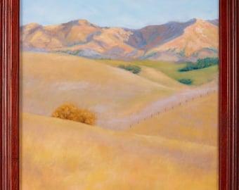 Oil Painting, Santa Barbara Winter