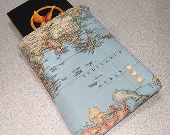 Book Sleeve / Book Cover - Wanderlust BookBurrow