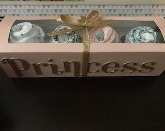 Personalize Onesie cupcakes