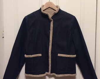 Vintage_90s cozy jacket