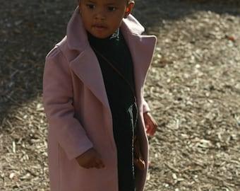 Mini J'adore Toddler/Kids PDF wool coat sewing pattern